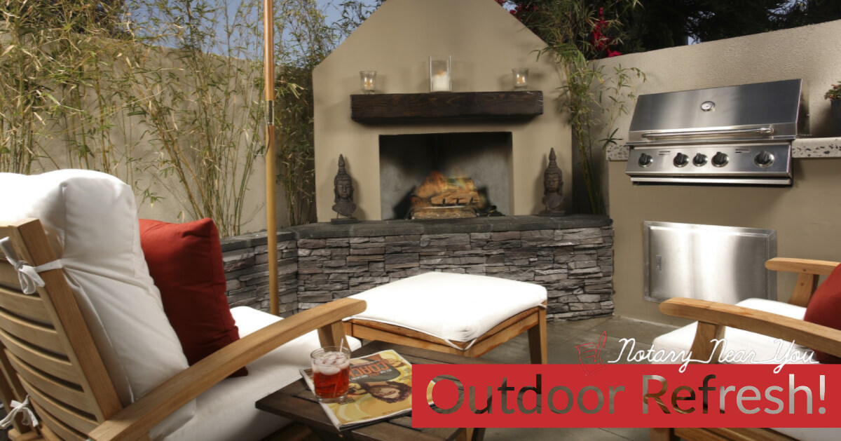 Superbe Refresh Your Outside Living Spaces For Summer Fun
