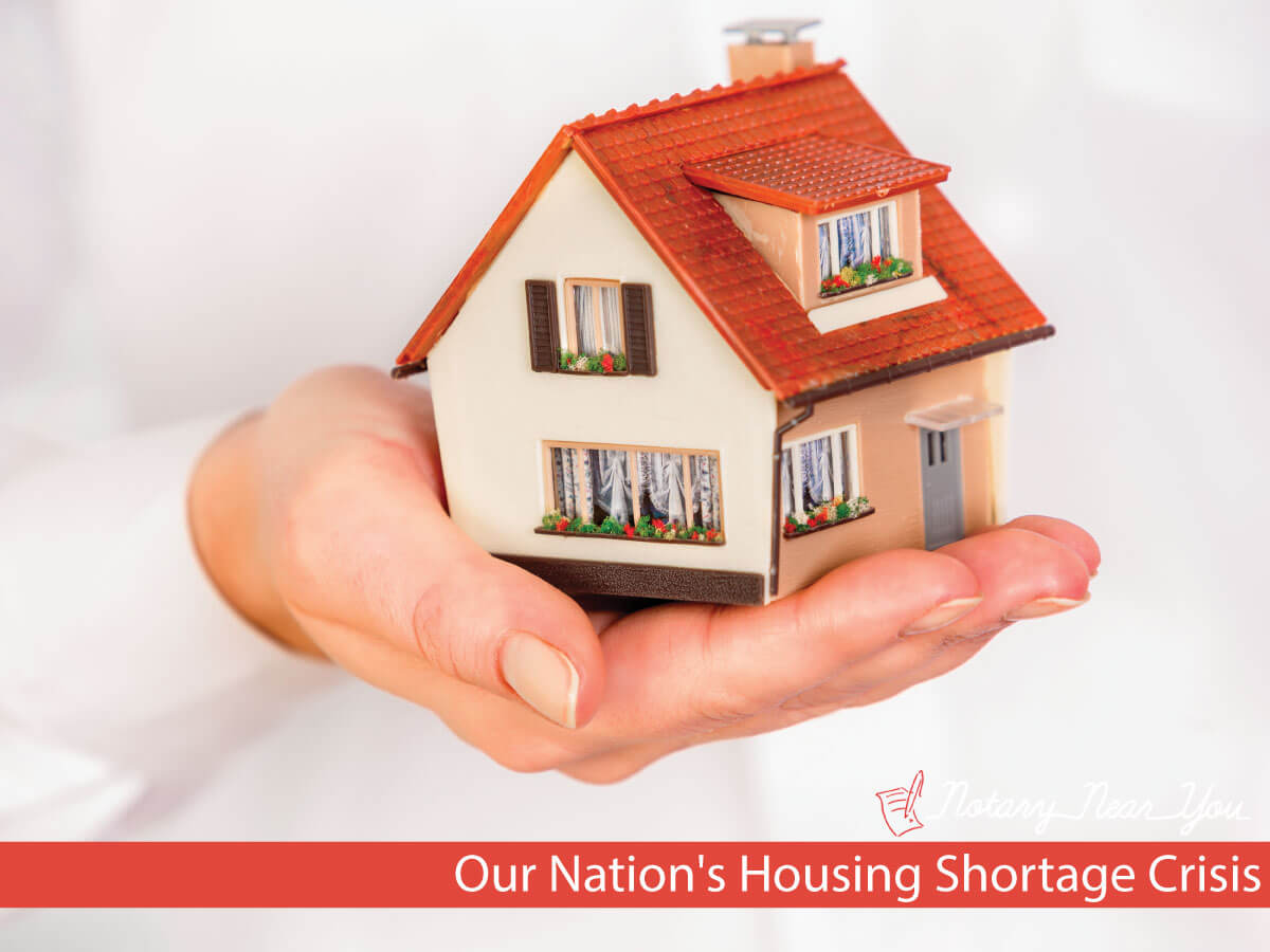 Our Nation's Housing Shortage Crisis