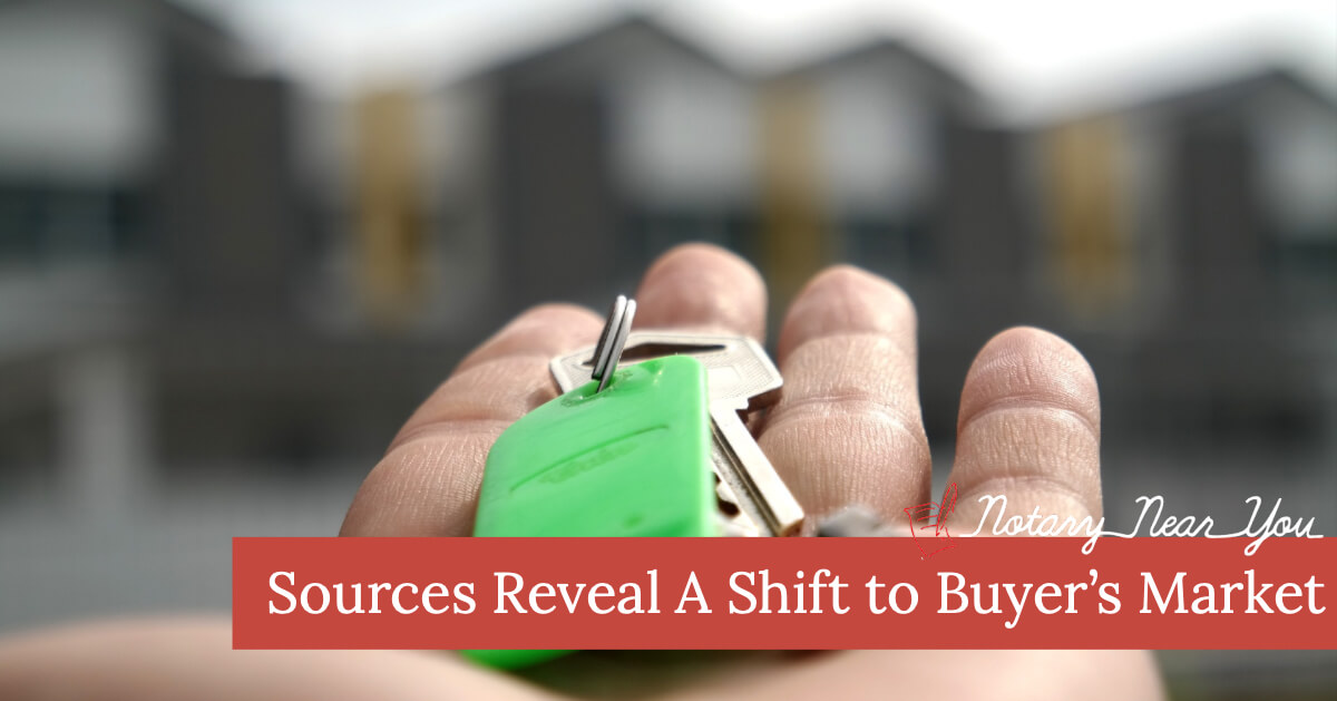 Sources Reveal A Shift to Buyer's Market