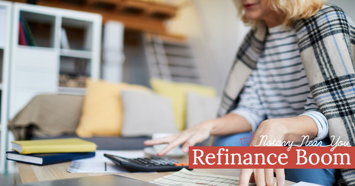 Refinance Boom Has Approached Us