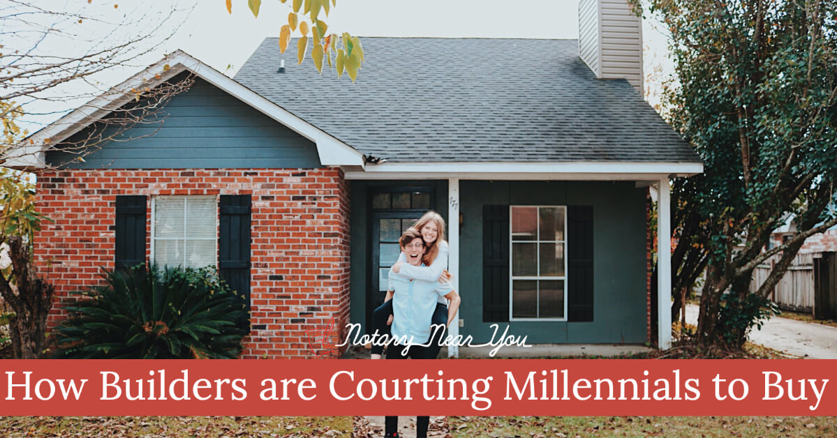 How Builders are Courting Millennials to Buy