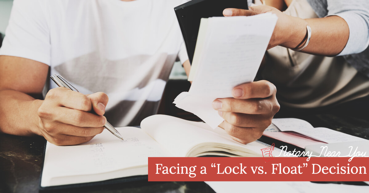 "Facing a ""Lock vs Float"" Decision?"