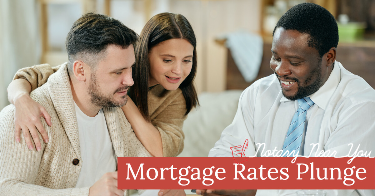 Mortgage Rates Plunge to All-Time Lows