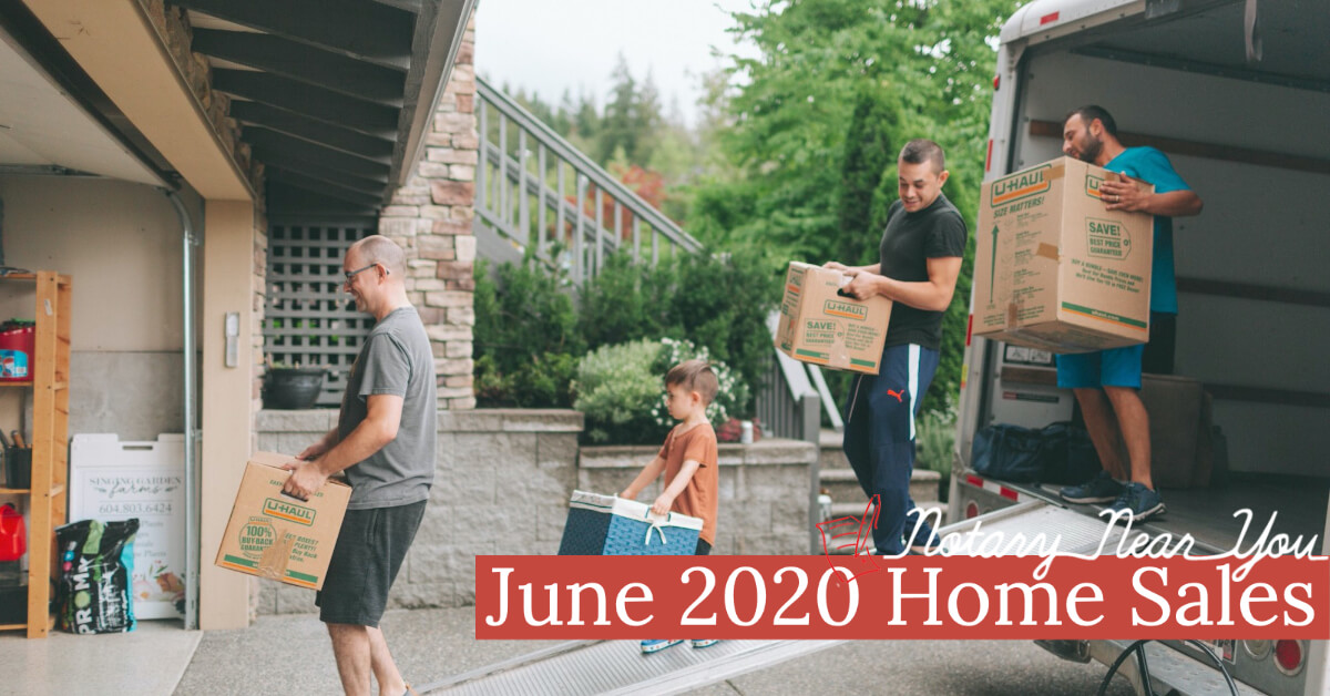 June 2020 Hit Historic High Increase in Existing Home Sales