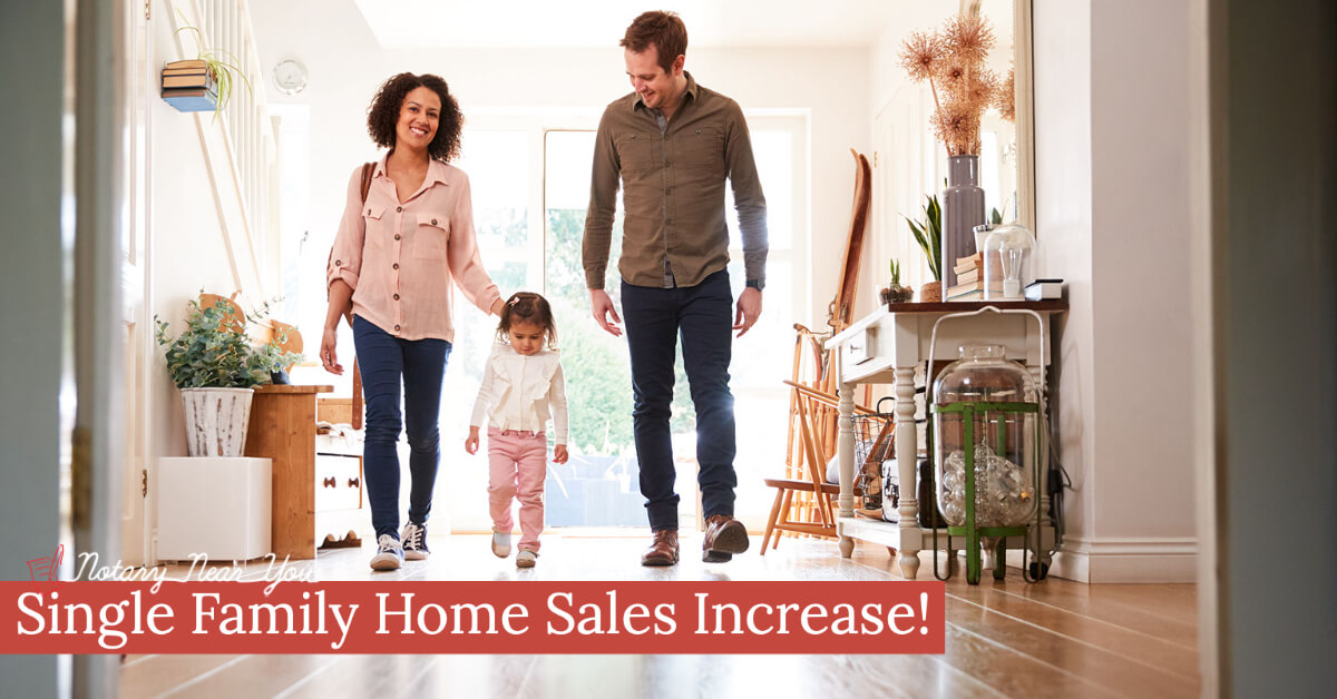 Single Family Home Sales Increase in July After 3 Months of Decline